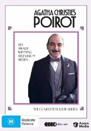 Agatha Christie's: Poirot - Series Four (4 Disc Set) on DVD