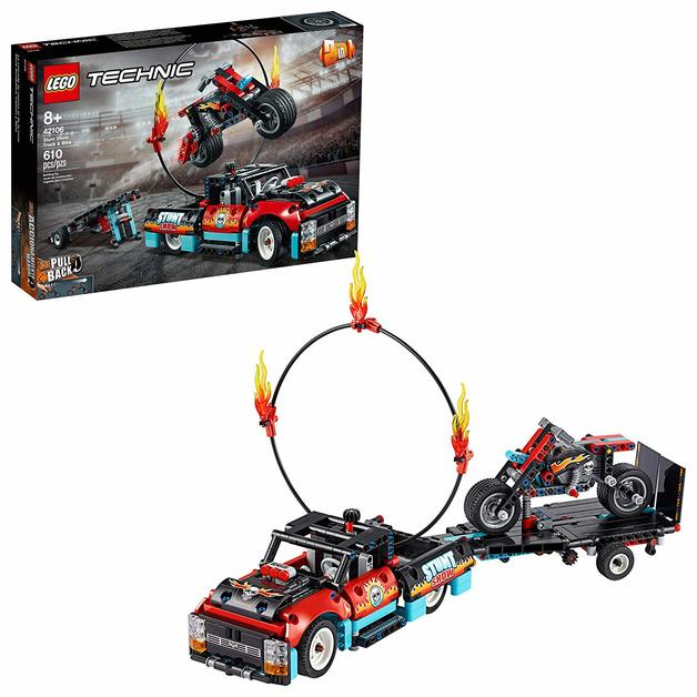 LEGO Technic: Stunt Show Truck & Bike - (42106)