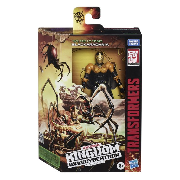 Transformers Generations: War for Cybertron Kingdom - Deluxe Class - Blackarachnia