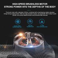 Electric Muscle Massage Gun- Carbon Fibre