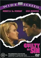 Guilty As Sin on DVD
