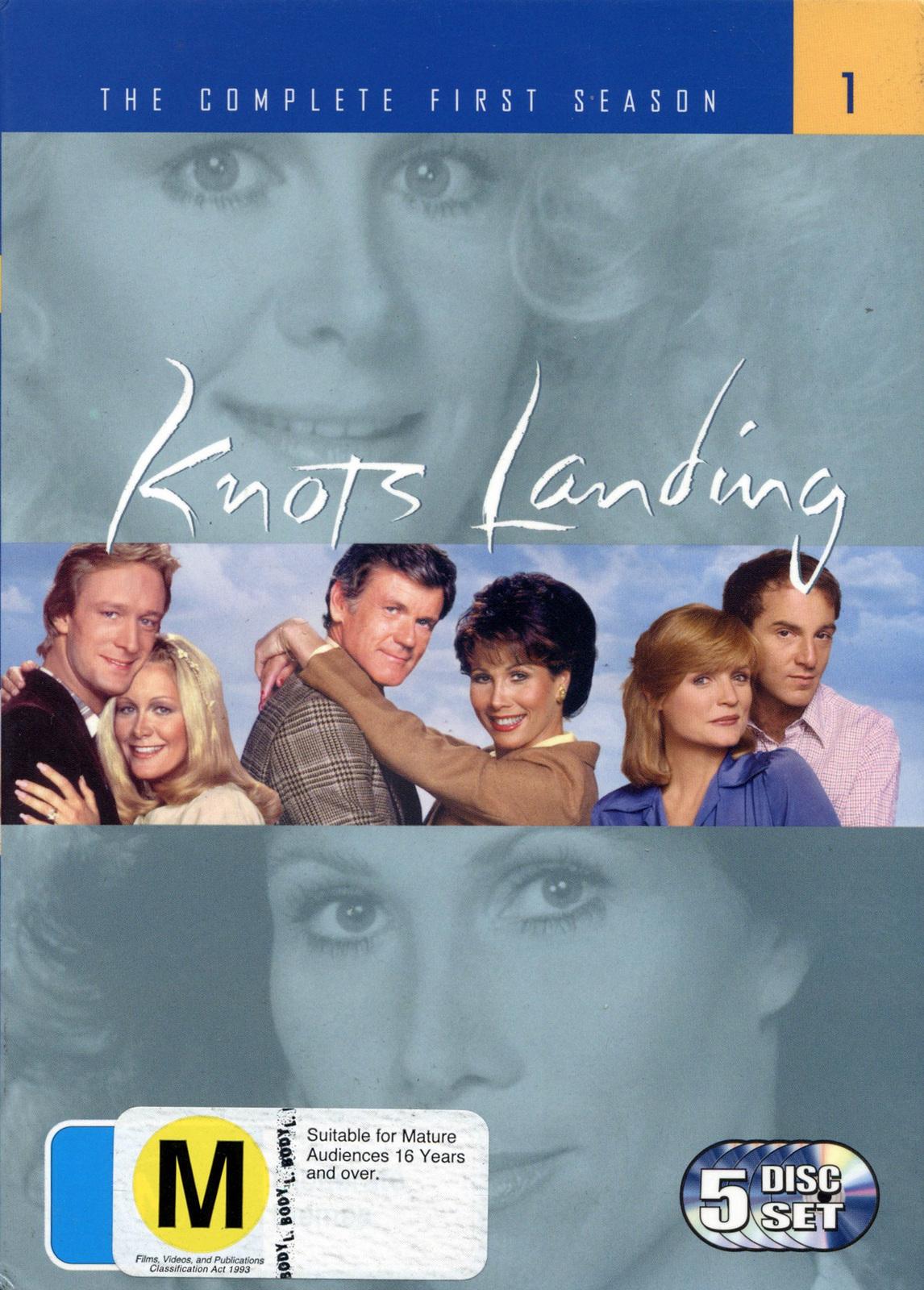 Knots Landing - Complete Season 1 (5 Disc Set) on DVD image