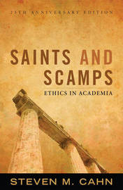 Saints and Scamps by Steven M Cahn