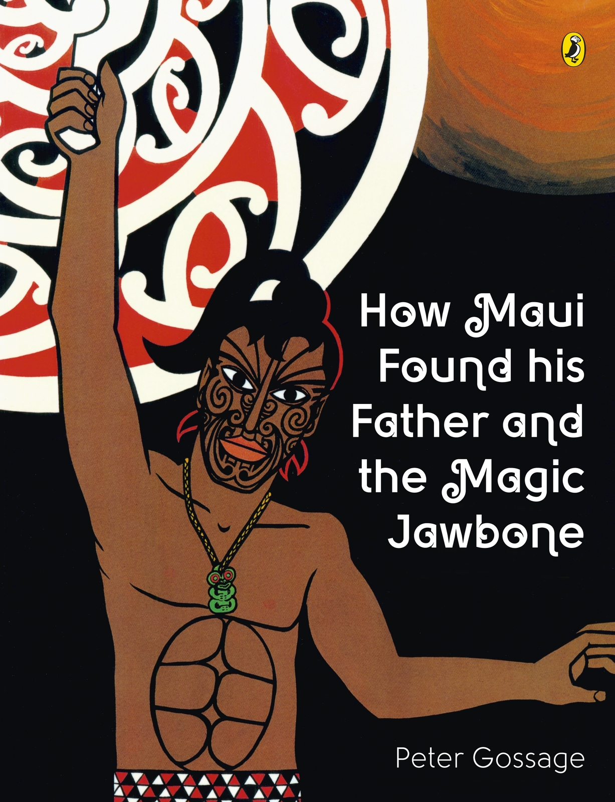 How Maui Found His Father and the Magic Jawbone by Peter Gossage image