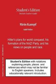 Mein Kampf (Student's & Teacher's Classroom Edition) by Adolf Hitler