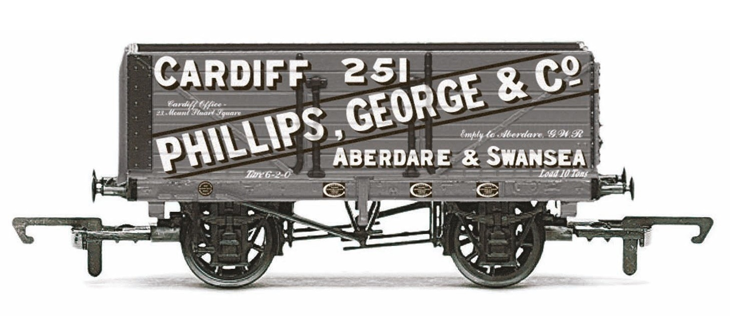 Hornby: 7 Plank Wagon 'Phillips, George & Co' image