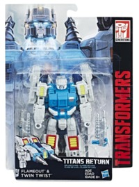 Transformers: Generations - Deluxe - Twin Twist