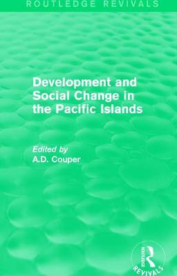 : Development and Social Change in the Pacific Islands (1989)