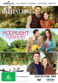 Hallmark Collection Two: Harvest Love/love Struck Cafe/moonlight In Vermont on DVD