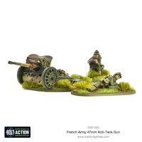 French Army 47mm Anti-Tank Gun