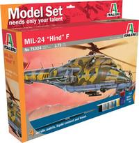 """Italeri Complete Kit: MIL-24 """"Hind"""" 1:72"""
