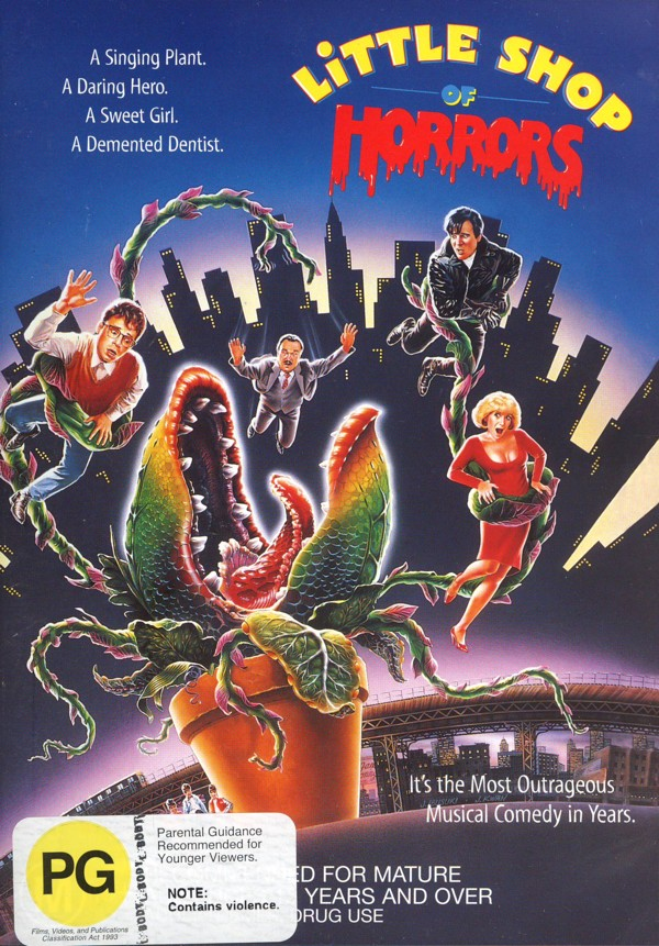 Little Shop of Horrors on DVD image