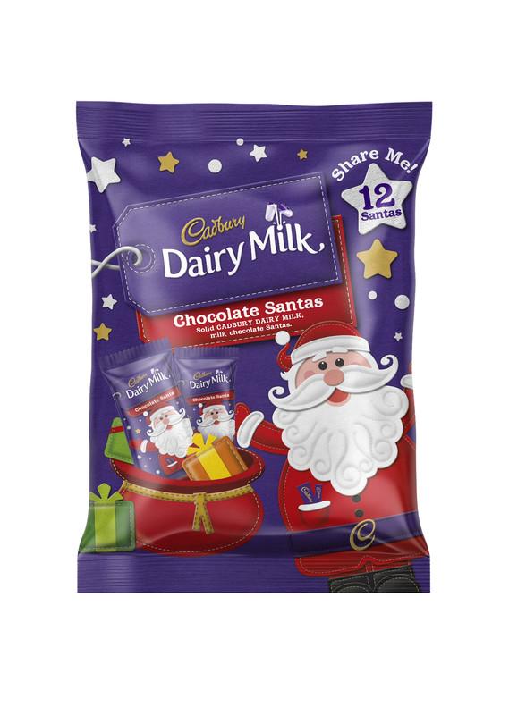 Cadbury Dairy Milk Santa Sharepack (144g)