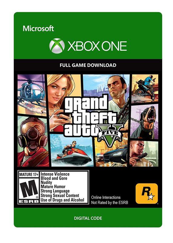 Grand Theft Auto V (Digital Code) for Xbox One
