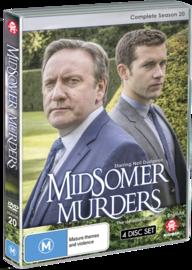 Midsomer Murders: Complete Season 20 - (Single Case Version) on DVD image