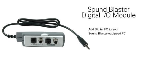 CREATIVE LABS Creative Soundblaster I/O Module