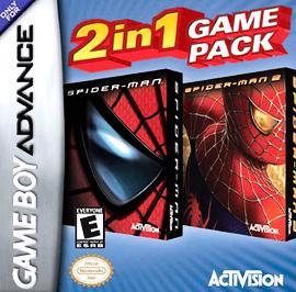 Spider-Man 1 / Spider-Man 2 Game Pack for Game Boy Advance