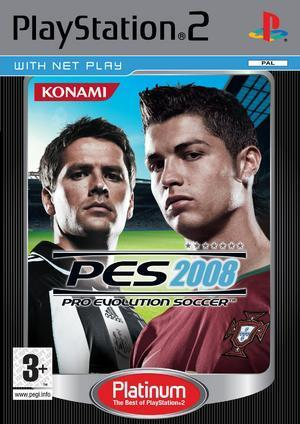 Pro Evolution Soccer 2008 (Platinum) for PlayStation 2