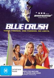 Blue Crush on DVD image