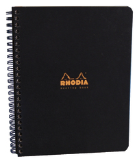 Rhodia Classic Meeting Book A5 - Black