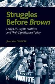 Struggles Before Brown by Jean Van Delinder image