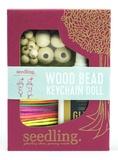Seedling: Wood Bead Keychain Dolls