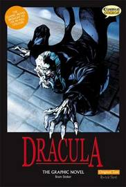 Dracula The Graphic Novel Original Text by Bram Stoker