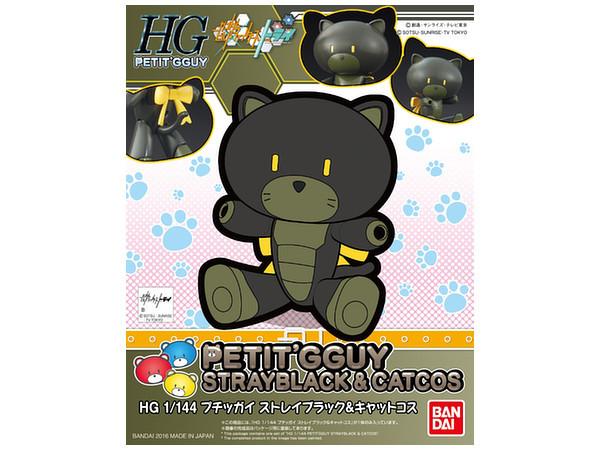 HGPG 1/144 Petit'gguy Stray Black & Catcos - Model Kit