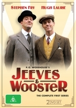 Jeeves And Wooster - Complete Series 1 (2 Disc Set) on DVD