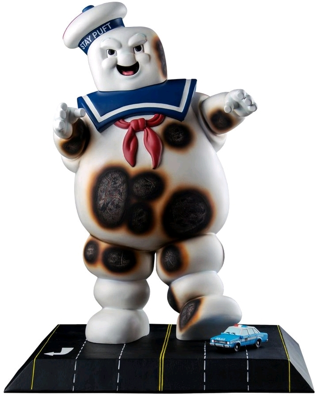 """Ghostbusters: Stay Puft (Burnt Ver.) - 18"""" Collectors Statue"""