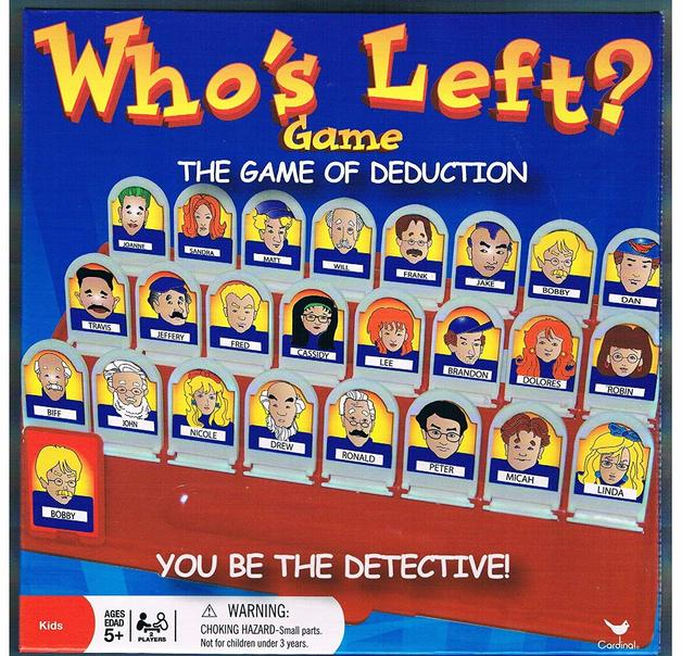 Who's Left - A Game of Deduction