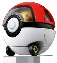 Dream Tomica Ride-on: Pikachu x Monsterball