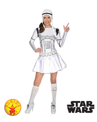 Star Wars: Stormtrooper - Women's Costume (Small)