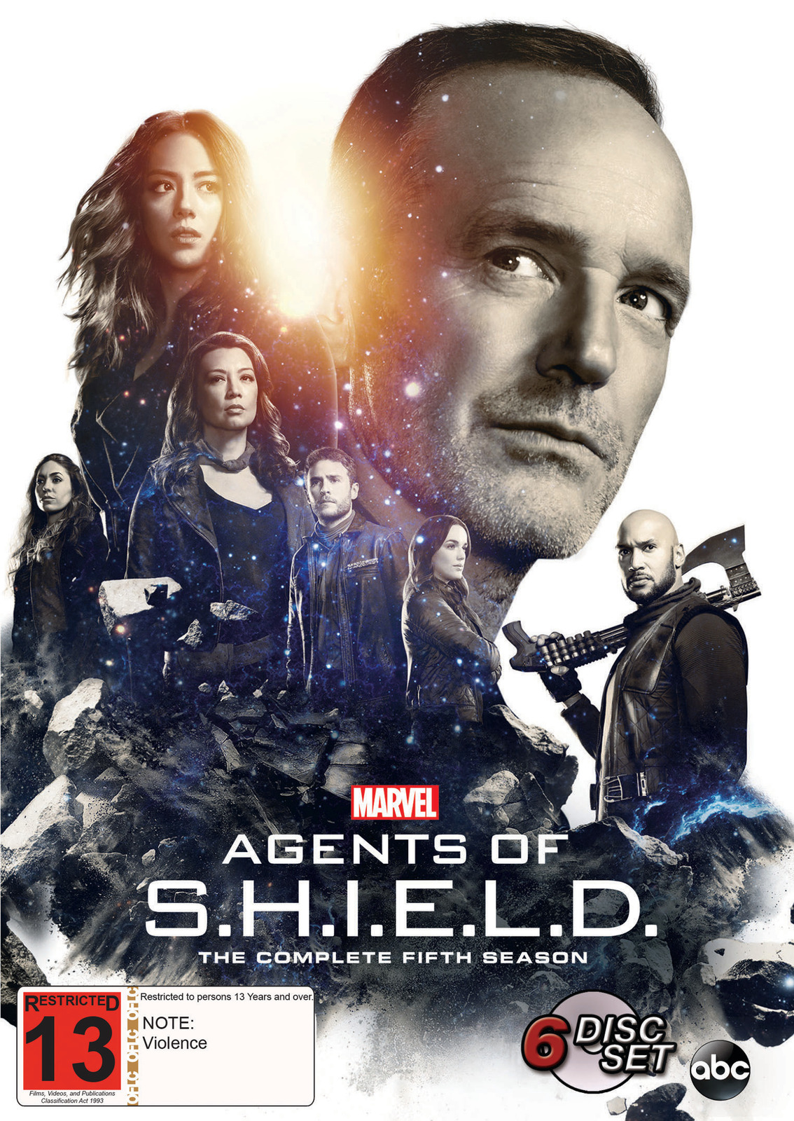 Agents Of S.H.I.E.L.D. - Season 5 on DVD image