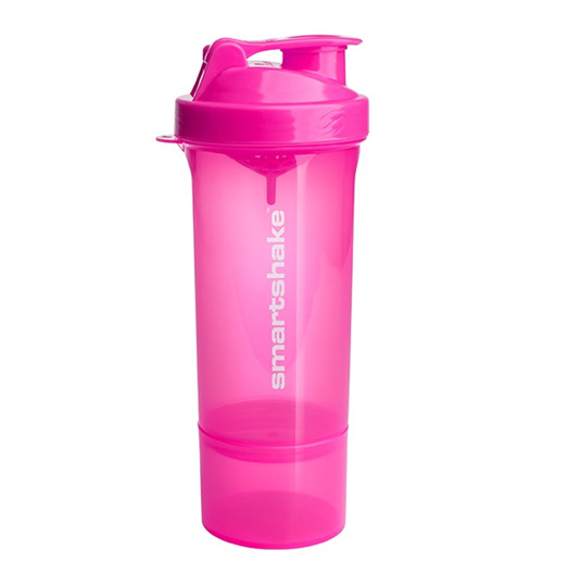 Smartshake Slim Protein Shaker - Pink (400ml)