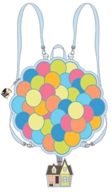Loungefly: Up Convertible Mini Backpack - Balloon House