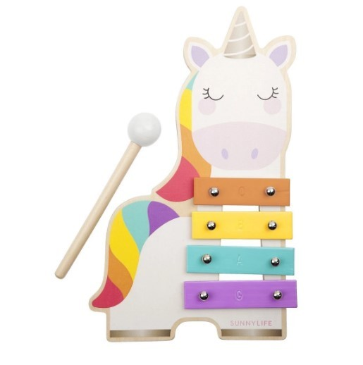 Sunnylife: Mini Xylophone - Unicorn