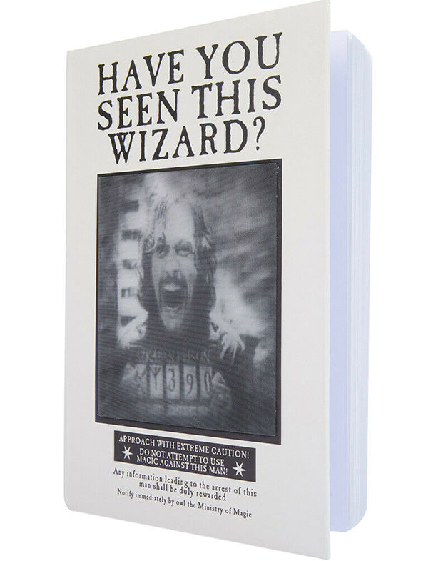 Harry Potter: Lenticular Notebook