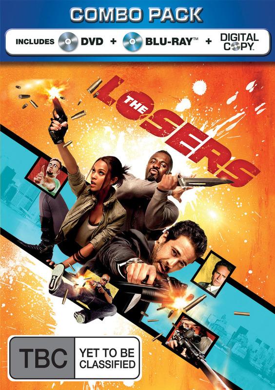 The Losers - Combo Pack: DVD/Blu-ray (BONUS Digital Copy) (2 Disc Set) on Blu-ray, DC