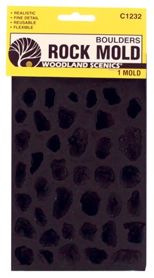 Woodland Scenics Boulders Mould image