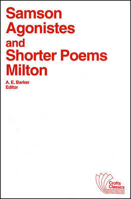 Samson Agonistes and Shorter Poems by John Milton image