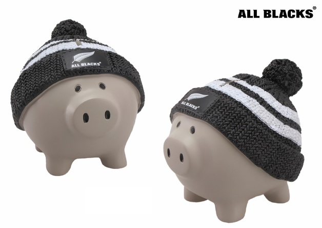 All Blacks - Beanie Piggy Bank