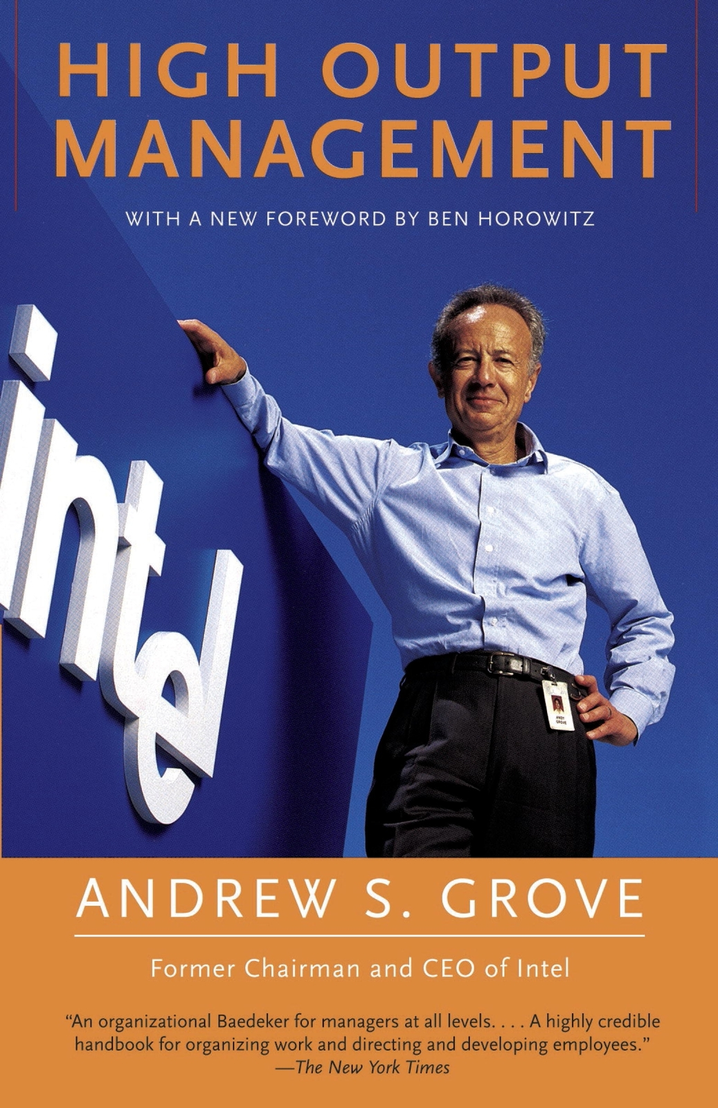 High Output Management by Andrew Grove image