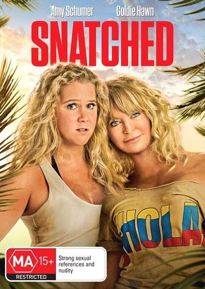 Snatched on DVD image