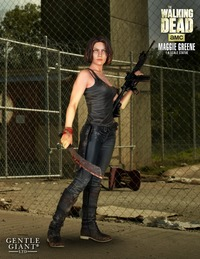 The Walking Dead: Maggie - 1:4 Scale Statue