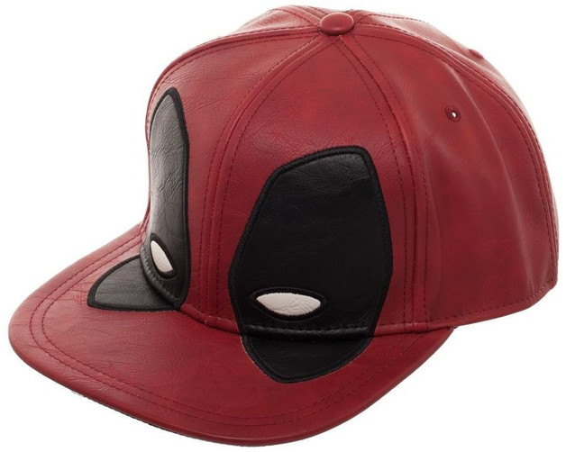 Deadpool: Big Face Distressed - Snapback Cap
