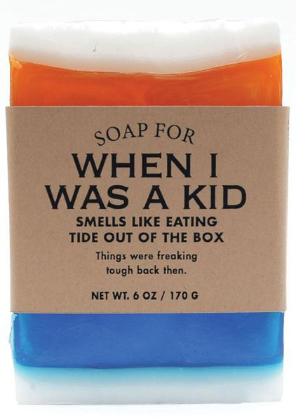 Whiskey River Co: Soap - When I Was A Kid