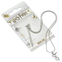 The Carat Shop: Harry Potter Silver Plated Lightning Bolt with Glasses Necklace image