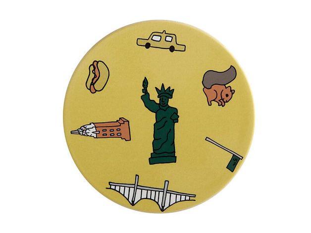 Maxwell & Williams: Megan McKean Cities Ceramic Round Coaster - New York