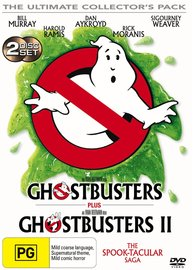 Ghostbusters / Ghostbusters II on DVD
